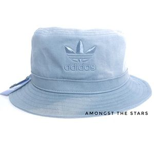 110e6d9d adidas Accessories - adidas Originals Overdye Tactile Blue Bucket Hat
